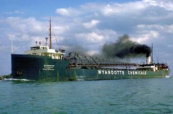 Wyandotte Freighter -- Marine Historical Society of Detroit
